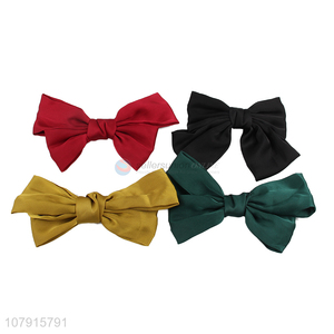 Fashionable Bow Hairpin Spring Hair Clip Girls Headwear