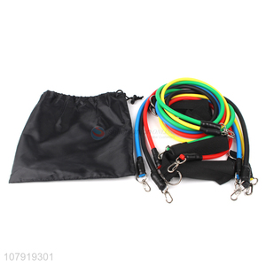Top Grade Hot Selling 11pcs Training Resistance Bands Set