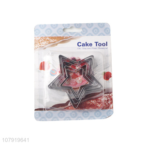 Good Quality Star Shape Baking Mold Cake Cookies Cutter Pastry Tools