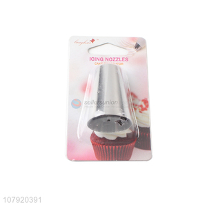 Online wholesale stainless steel cake decorating nozzles piping tips